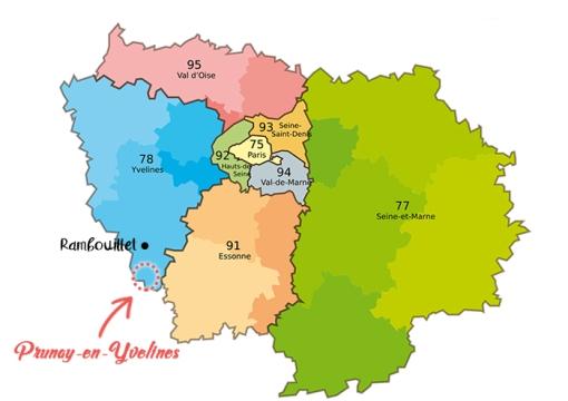 Plan de l'le de France